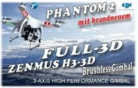 DJI 0361002G3 Phantom incl. NEUEM Full-3D Gimbal